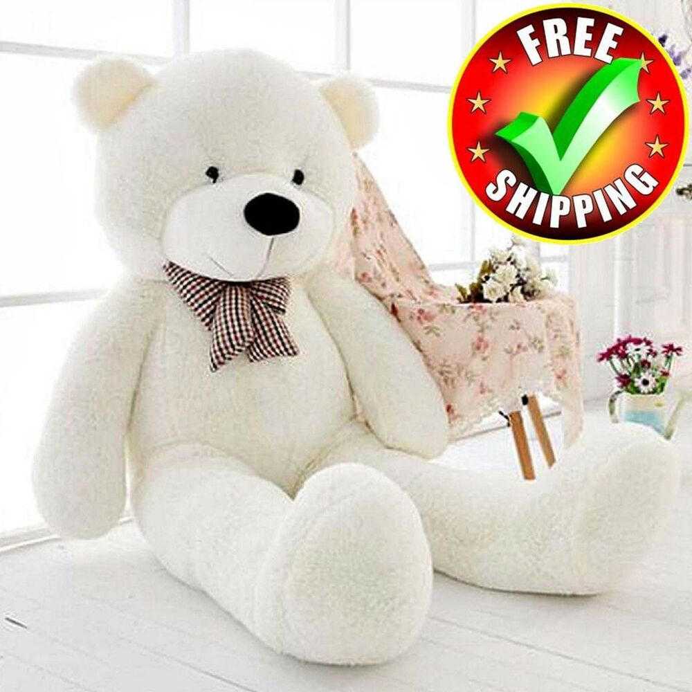 Giant Plush Teddy Bear 47 Stuffed Animal Soft Toy Huge Large Jumbo Gift New Love Toys Bear Soft Toy Animals Teddy Bear Plush Giant Plush
