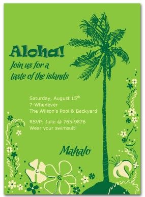 Hawaiian invitations templates free hawaiian party invitation hawaiian invitations templates free hawaiian party invitation template summer beach party invitations stopboris Gallery