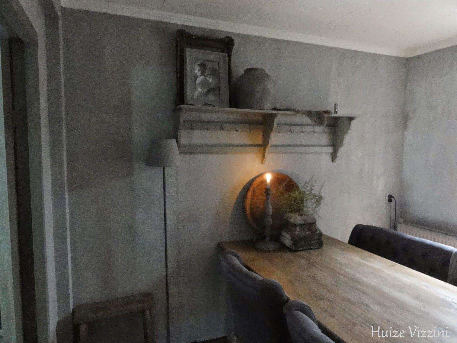 carte colori kalkverf beton op de muur beton optik pinterest wohnen wohnen und garten. Black Bedroom Furniture Sets. Home Design Ideas
