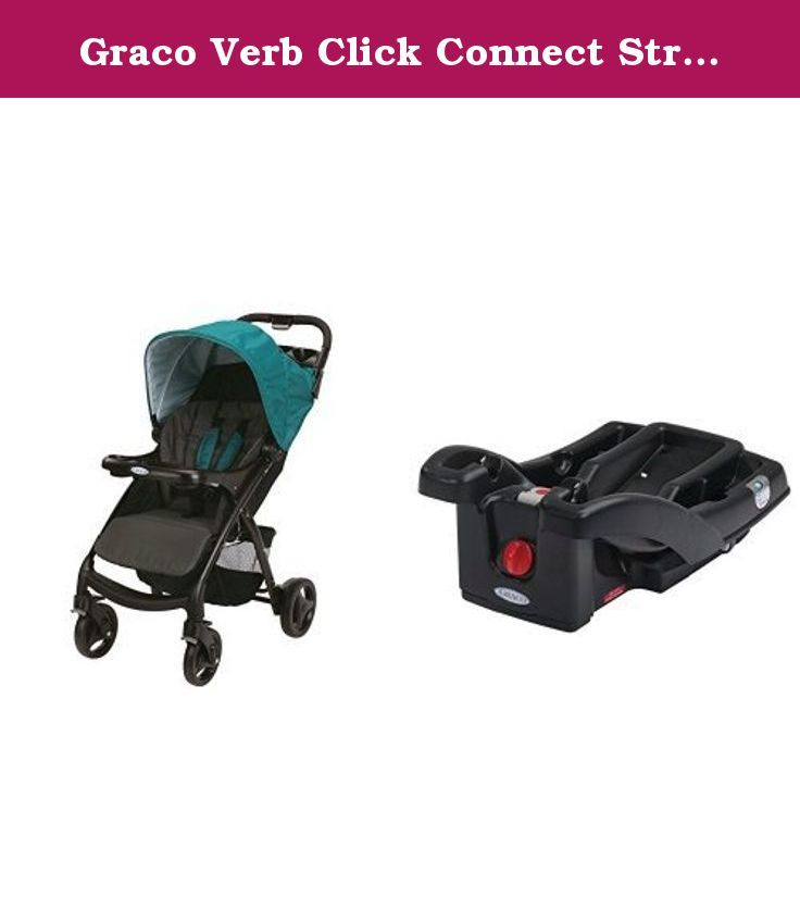 Graco Verb Click Connect Stroller And SnugRide LX Infant Car Seat Base Black
