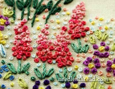 French Knot Video Tutorial French Knot Embroidery French Knots