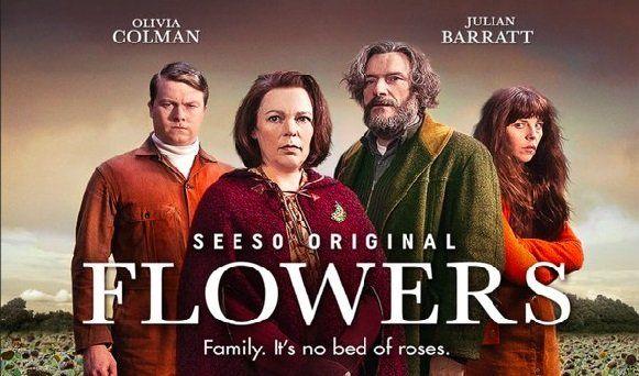 Julian Barratt Olivia Colman Sophia Di Martino And Daniel Rigby In Flowers 2016 Tv Series 2016 Tv Series Tv