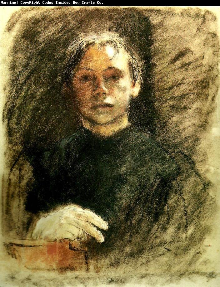 Käthe Kollwitz -self portrait