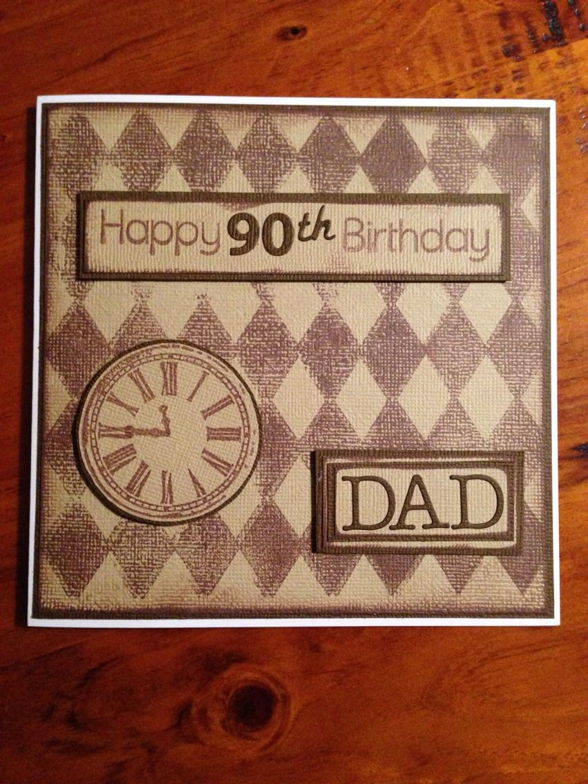 90 year old masculine birthday card cards pinterest 90 year old masculine birthday card bookmarktalkfo Image collections