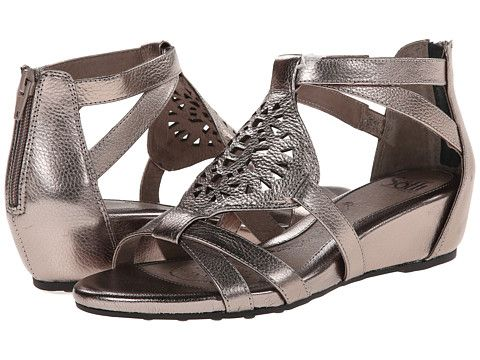 1dfaf913ddf3 Sofft Breeze Anthracite Cow Metallic - Zappos.com Free Shipping BOTH Ways