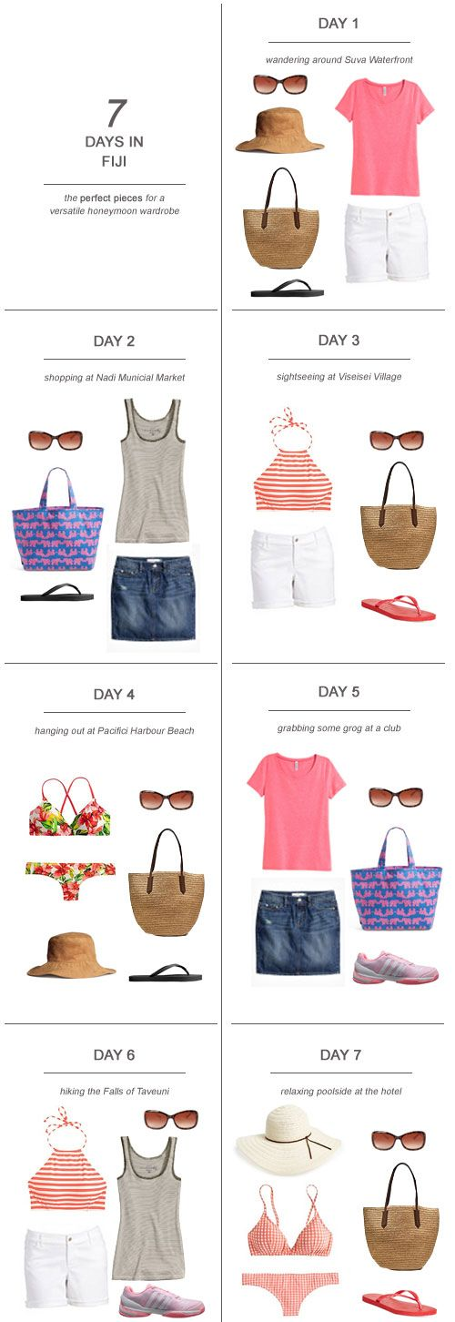 7 Days in Fiji  The Perfect Pieces for a Versatile Honeymoon Wardrobe