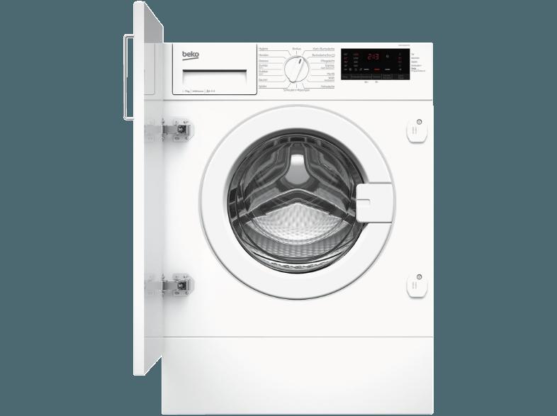 Beko Wmi71433pte Waschmaschine 7 Kg 1400 U Min A 08690842136795 Kategorie Haushalt Bad Wasche Waschmaschinen Einba Waschmaschine Wasche Tablet
