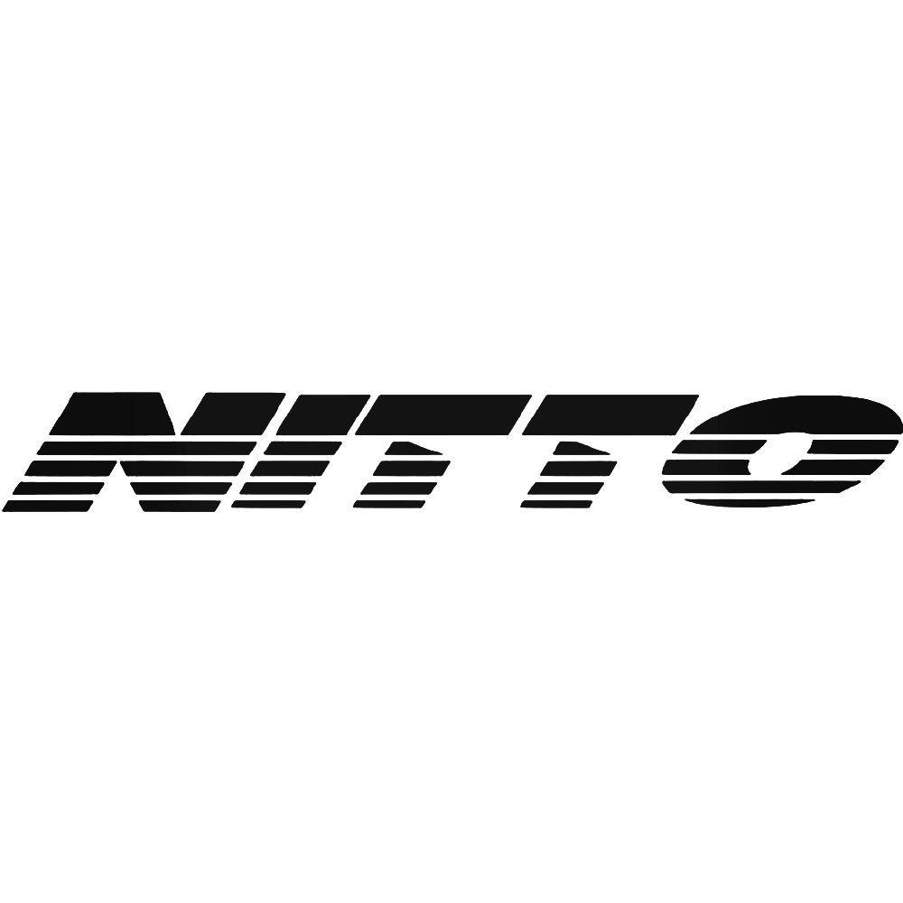 Nitto aftermarket logo graphic vinyl decal sticker ballzbeatz com aftermarket parts car stickers