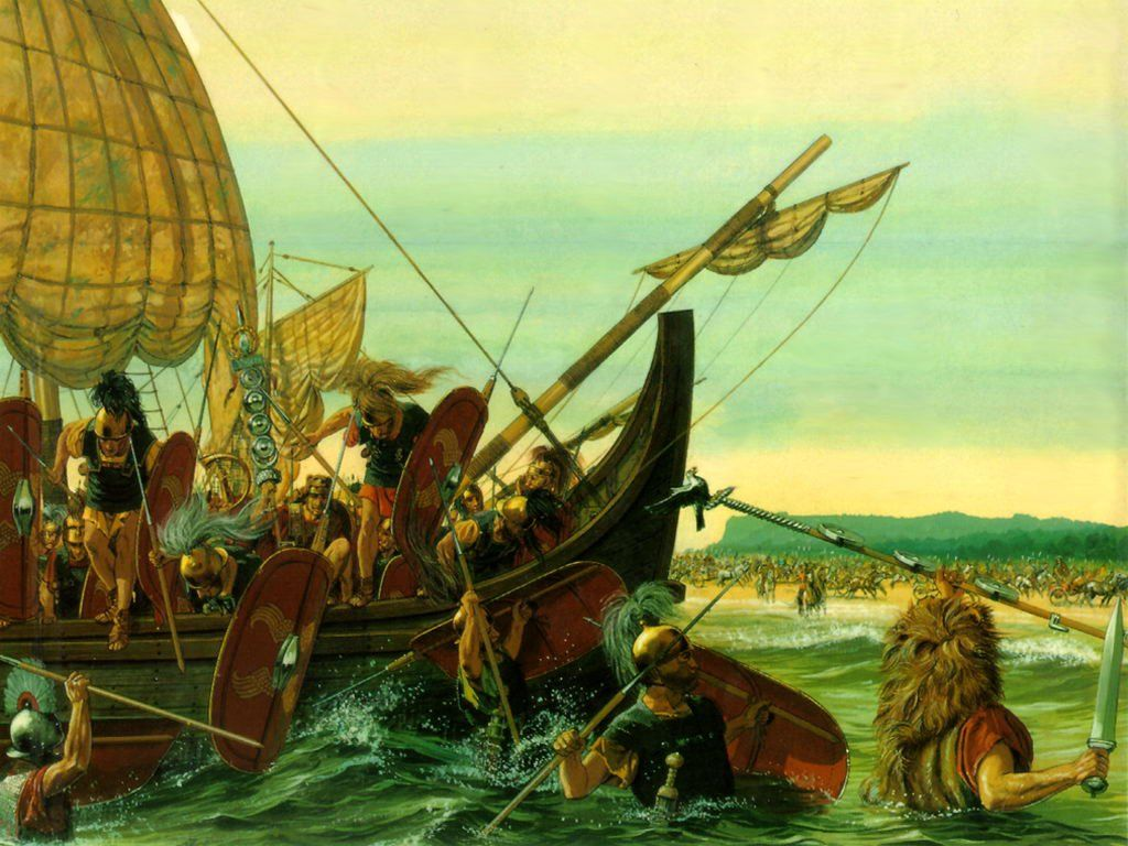 Pin Van Mark Beerdom Op Gallic War Art