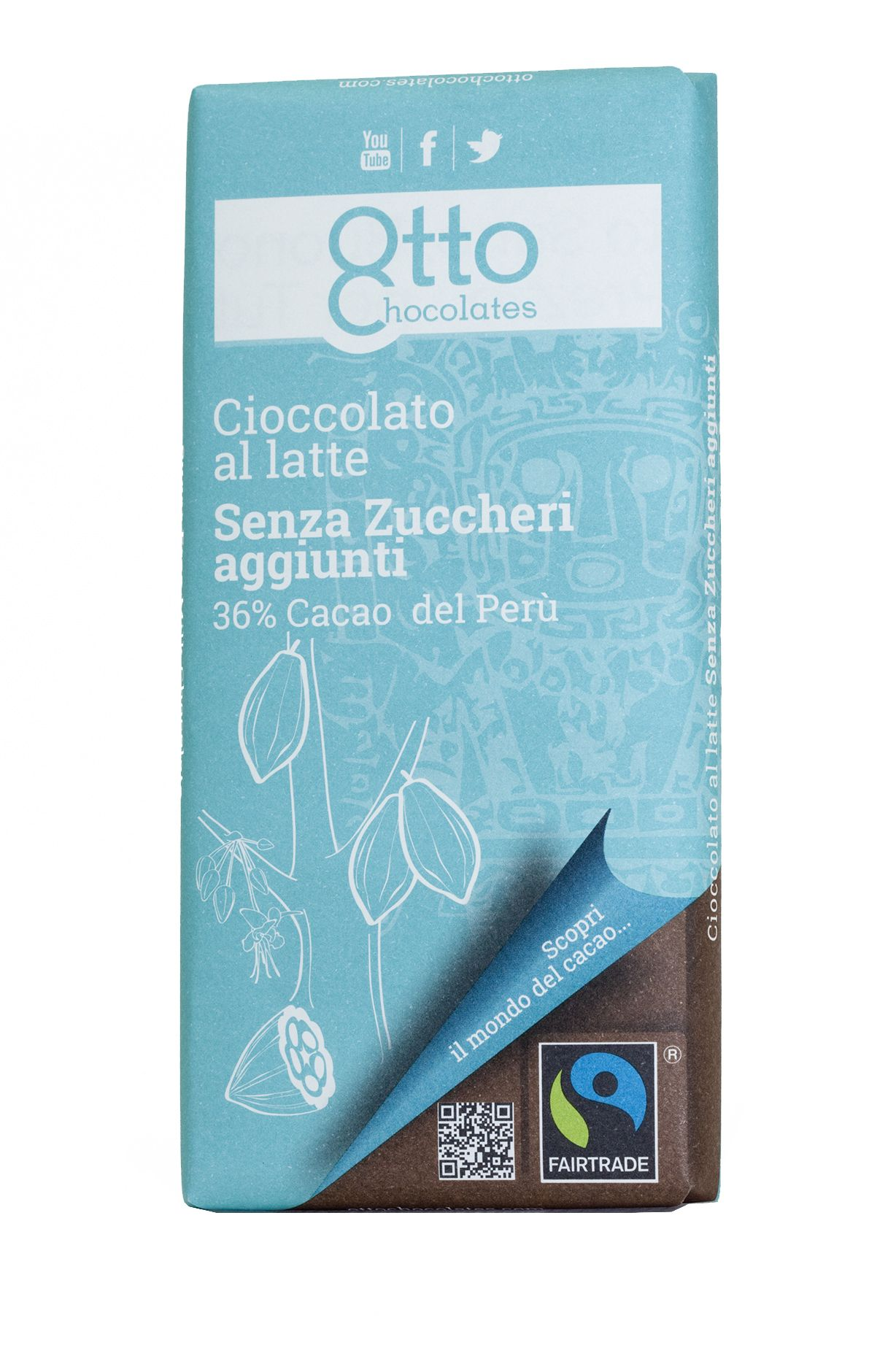 Otto Chocolate - Sugar Free Milk Chocolate | Sugar-free and clean ...