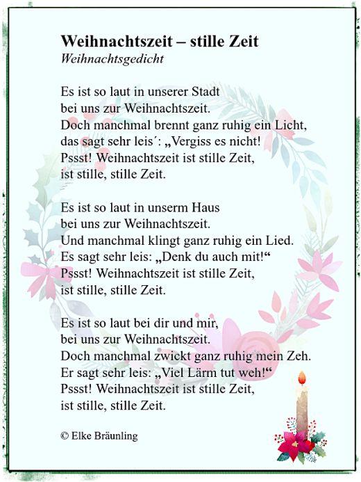 weihnachtszeit stille zeit gedichte gedicht weihnachten weihnachtsgedichte und