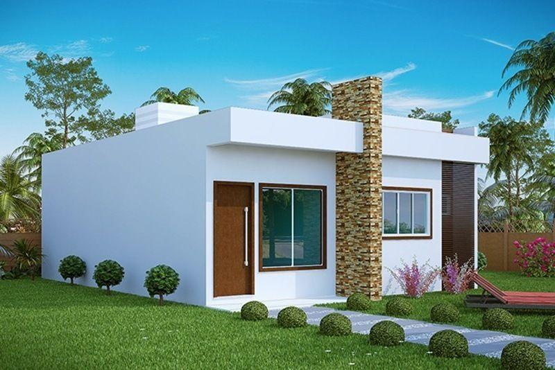 Projeto arquitet nico casa aracaju c d 303 r 420 00 for Casa moderna 1 8