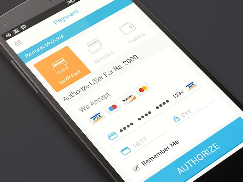 Payment Method Mobile App Design Mobile App App Design