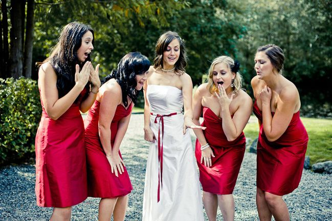 Pin On Bridesmaids And Bride