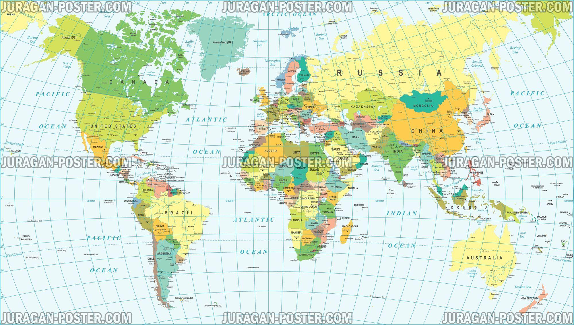 Jual peta dunia ukuran besar info lebih lanjut klik pada gambar world map peta dunia gumiabroncs Image collections