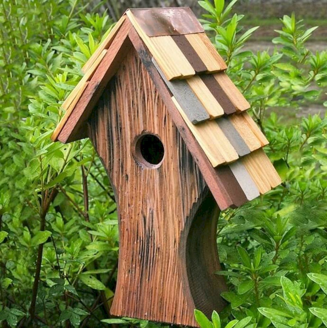 65+ Cool Birdhouse Design Ideas To Make Birds Easily to Nest in ...