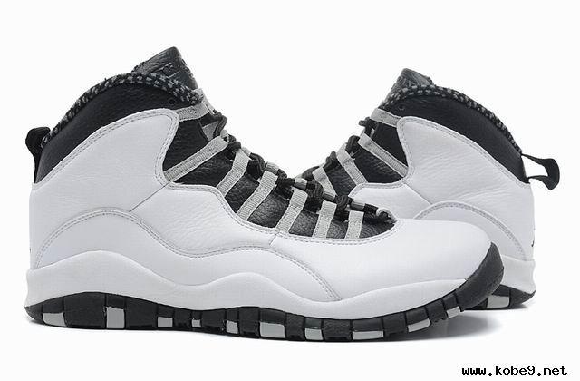 Nike Air Jordan 10 Retro White/Black-Lt