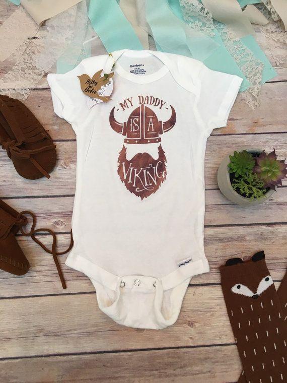 a93256831 My Daddy is a Viking Onesie®