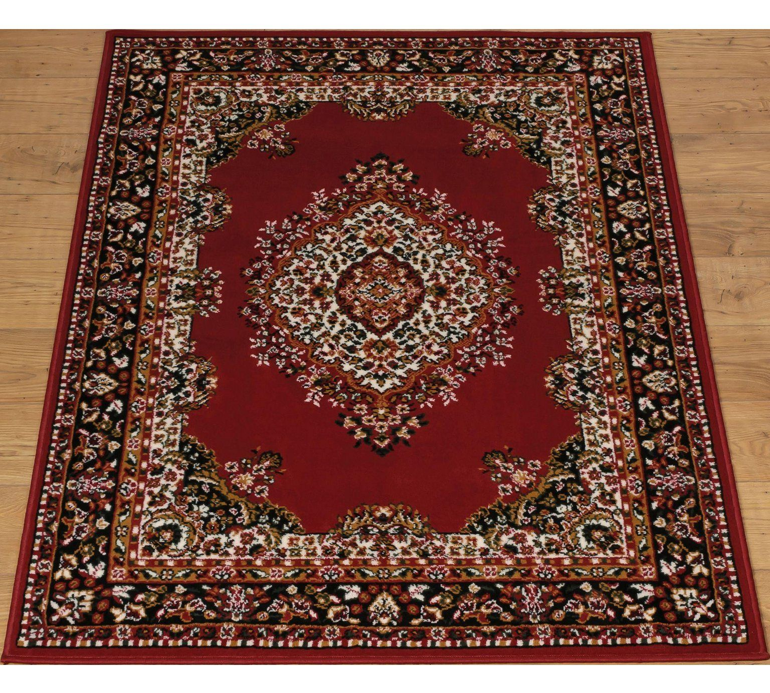 Home Bukhura Traditional Rug 160x120cm Red At Argos Co Uk