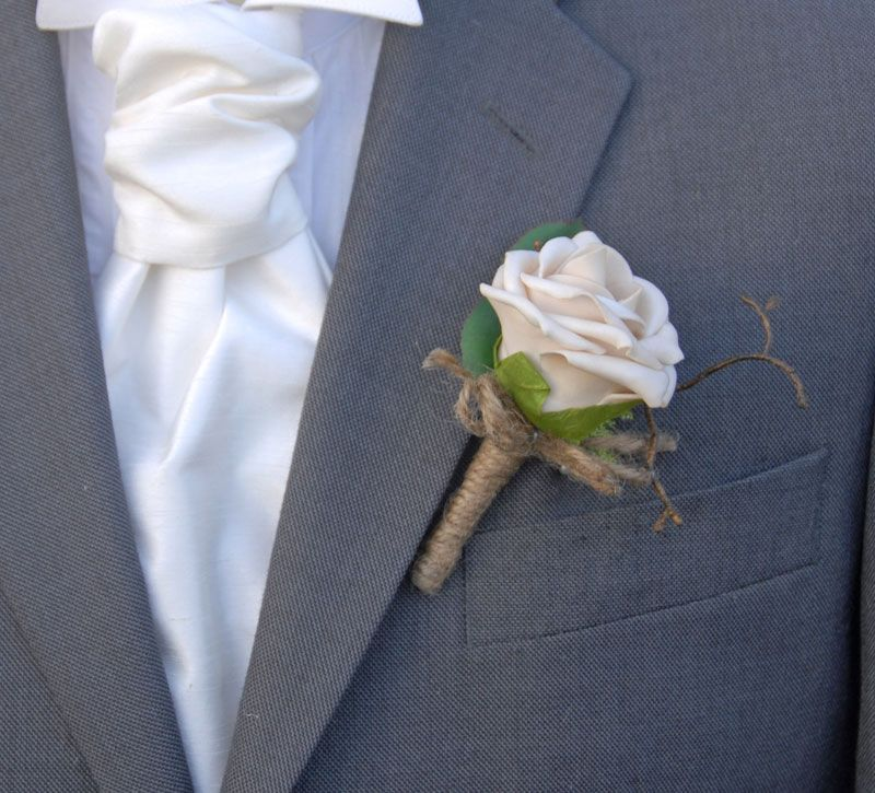 Wedding Button Holes With Roses - Google Search