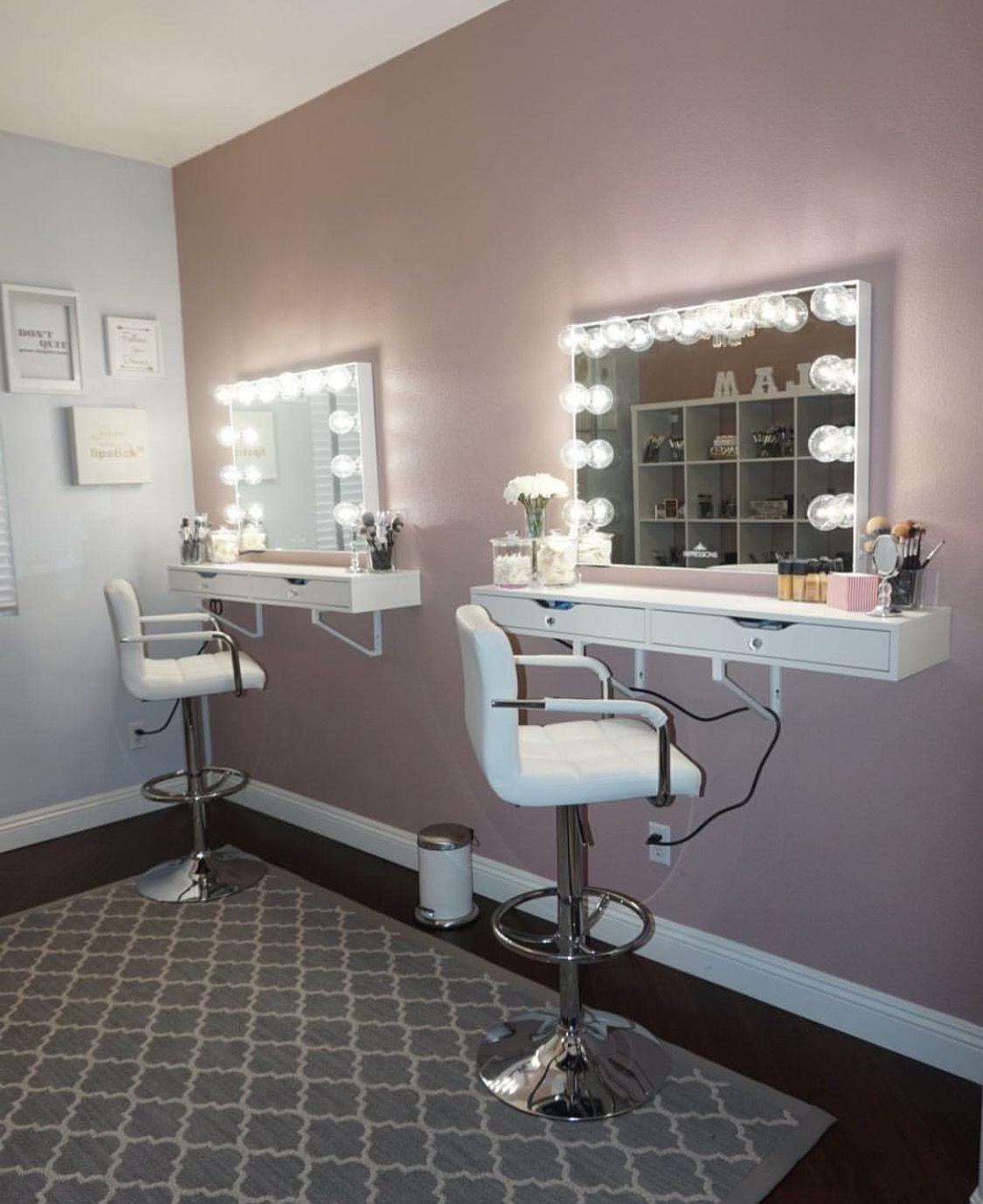 Queencaylz Makeup Studio Decor Makeup Room Decor Beauty Room