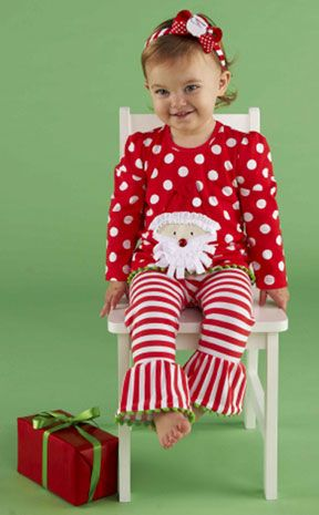 2 piece mud pie christmas santa tunic and leggings set mias christmas outfit - Mud Pie Christmas Outfit