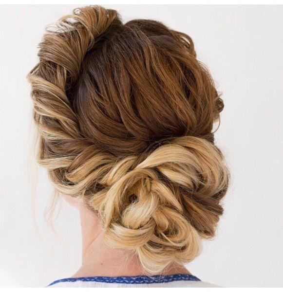 Прически | Стрижки | Укладка длинных волос, Убранные ...