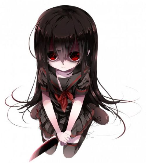 yandere girl szukaj w google anime pinterest yandere girl