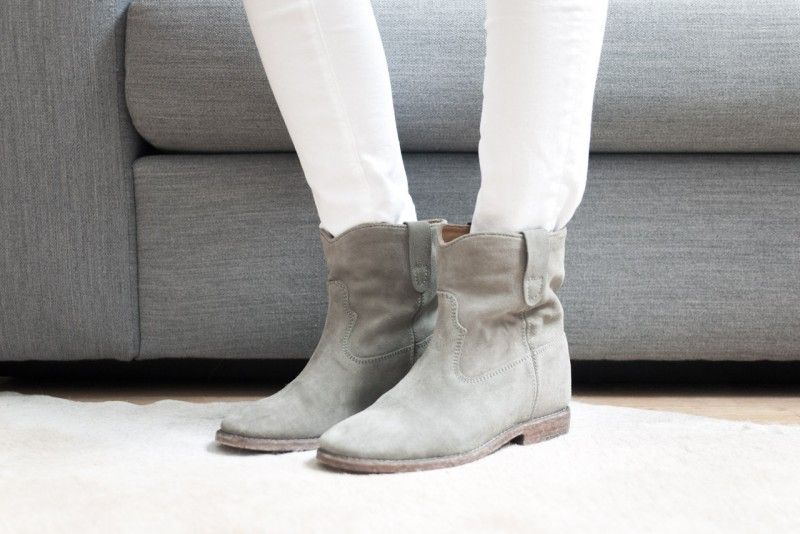 2e1f681c3 figtny.com   outfit • 33 Isabel Marant Crisi boots taupe - love them ...
