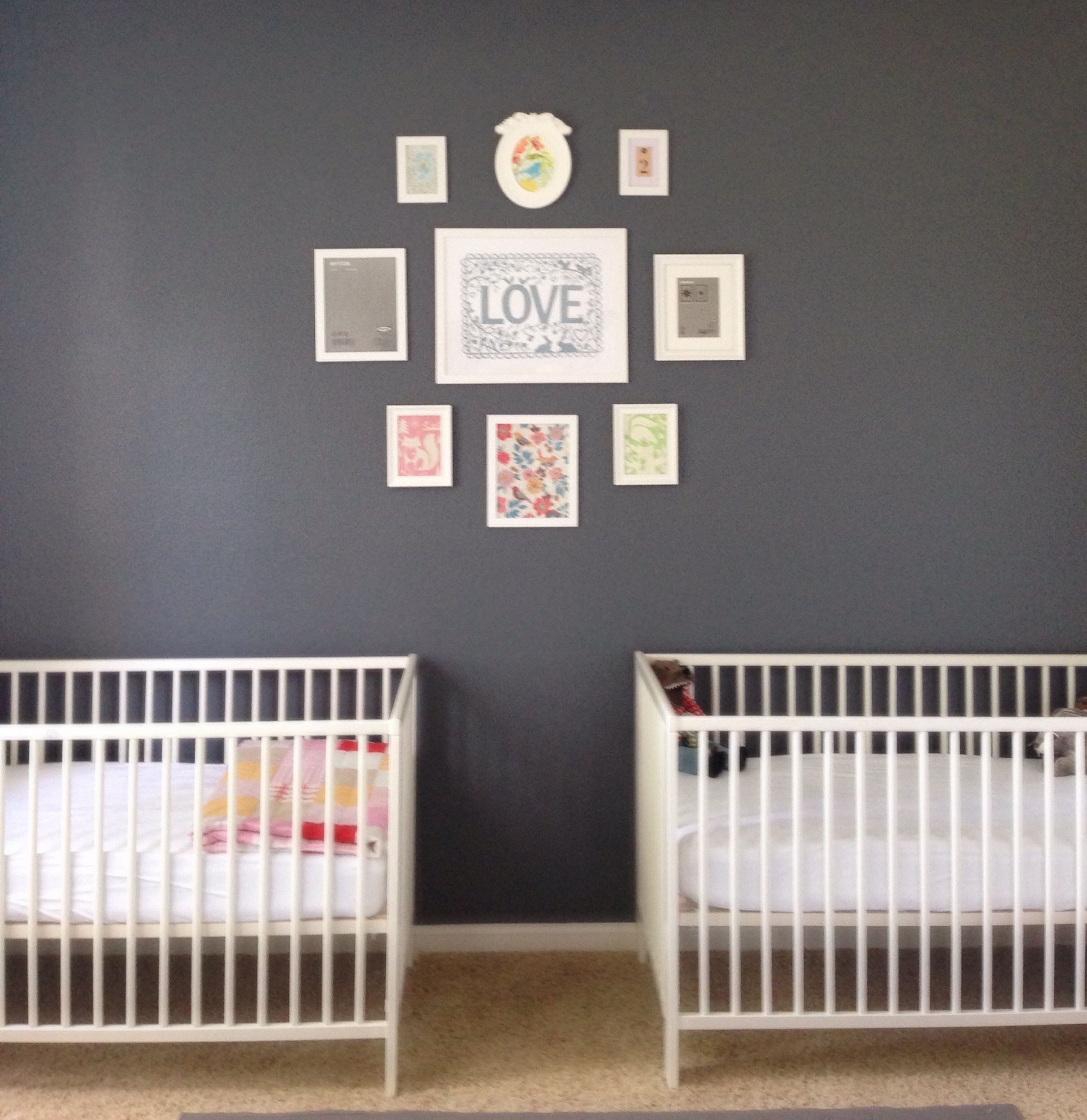 Behr Paint In Antique Tin Ikea Cribs W