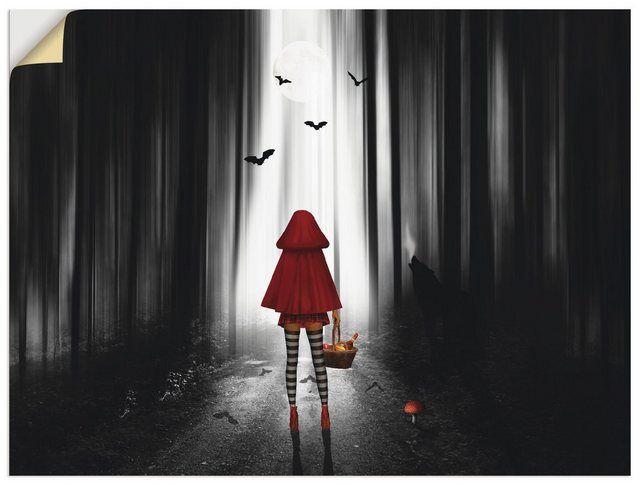 Artland Wandfolie »Mausopardia: Das Rotkäppchen auf High Heels« online kaufen | OTTO #filmposterdesign