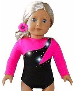 Light Blue Leotard Gymnastics made for 18 inch American Girl Doll Clothes
