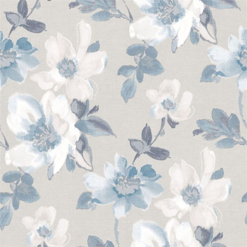 Find Fine Decor Marissa Blue Wallpaper At Homebase Visit Your Local Store For The Widest Range Of Paint Floral Wallpaper Blue Floral Wallpaper Blue Wallpapers