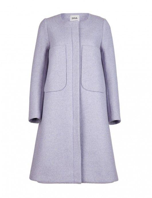 Percy Lilac Coat