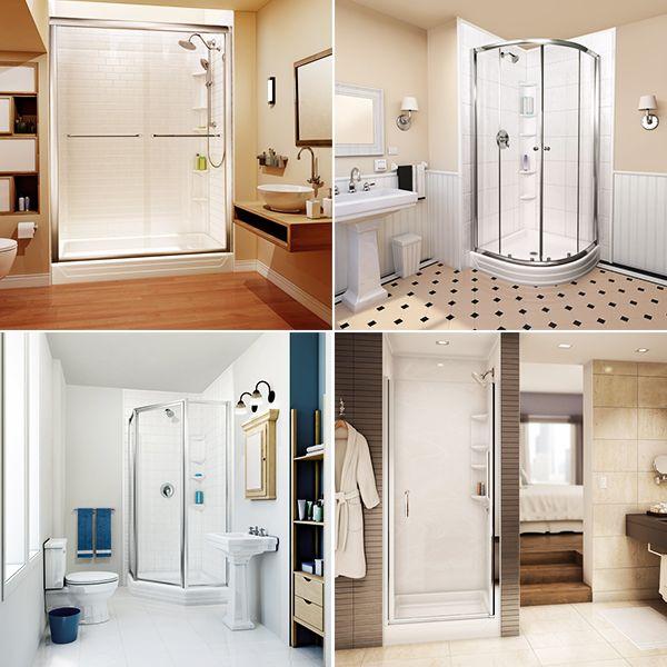 Bath Fitter Has A Great Selection Of Shower Door Designs For Your Bathroom Renovation Doors Can Be Sliding Bath Fitter Shower Door Designs Bathrooms Remodel