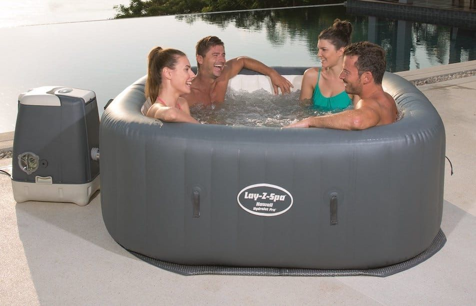 SaluSpa Hawaii HydroJet Pro Hot Tub Review Hot tub
