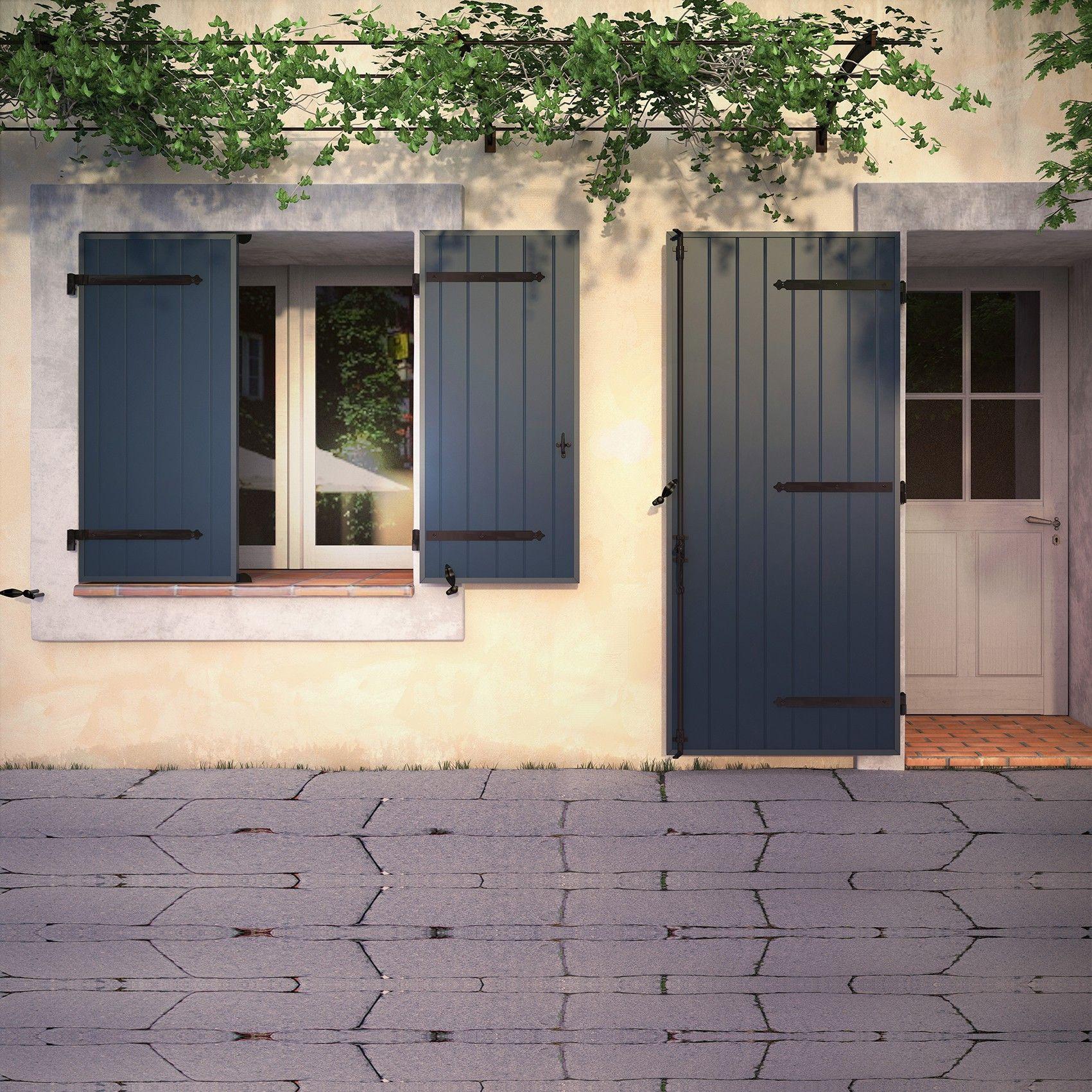 """Peindre Fenetre Pvc En Gris résultat de recherche d'images pour """"volets gris bleu"""
