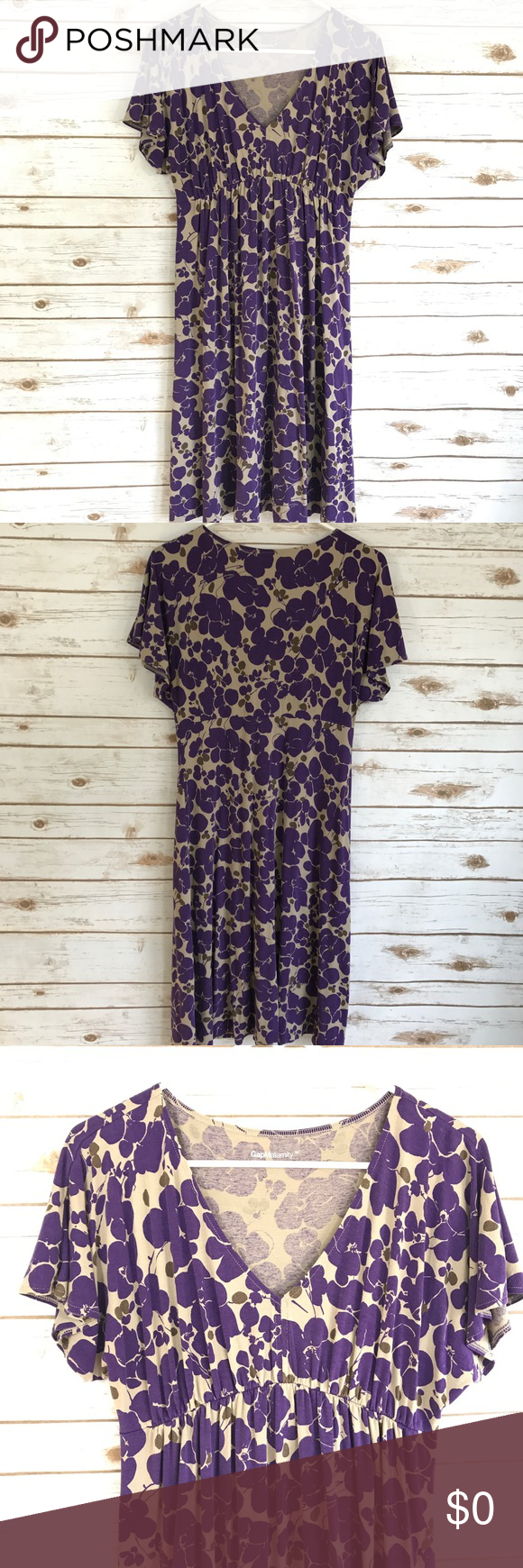 Gap maternity dress floral purple flowers medium maternity dresses gap maternity dress floral purple flowers medium gap maternity floral dress with v neck and short ombrellifo Image collections