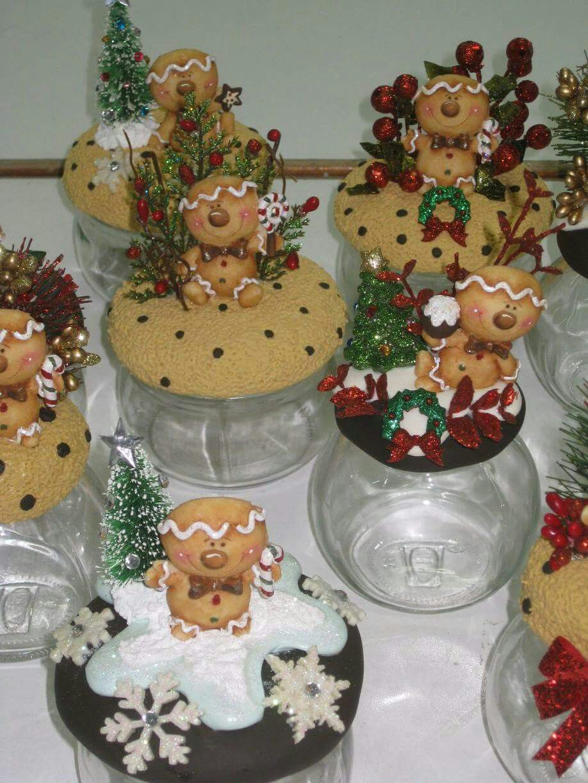 Resultado de imagen para pinterest manualidades porcelana for Adornos navidenos en porcelana fria utilisima