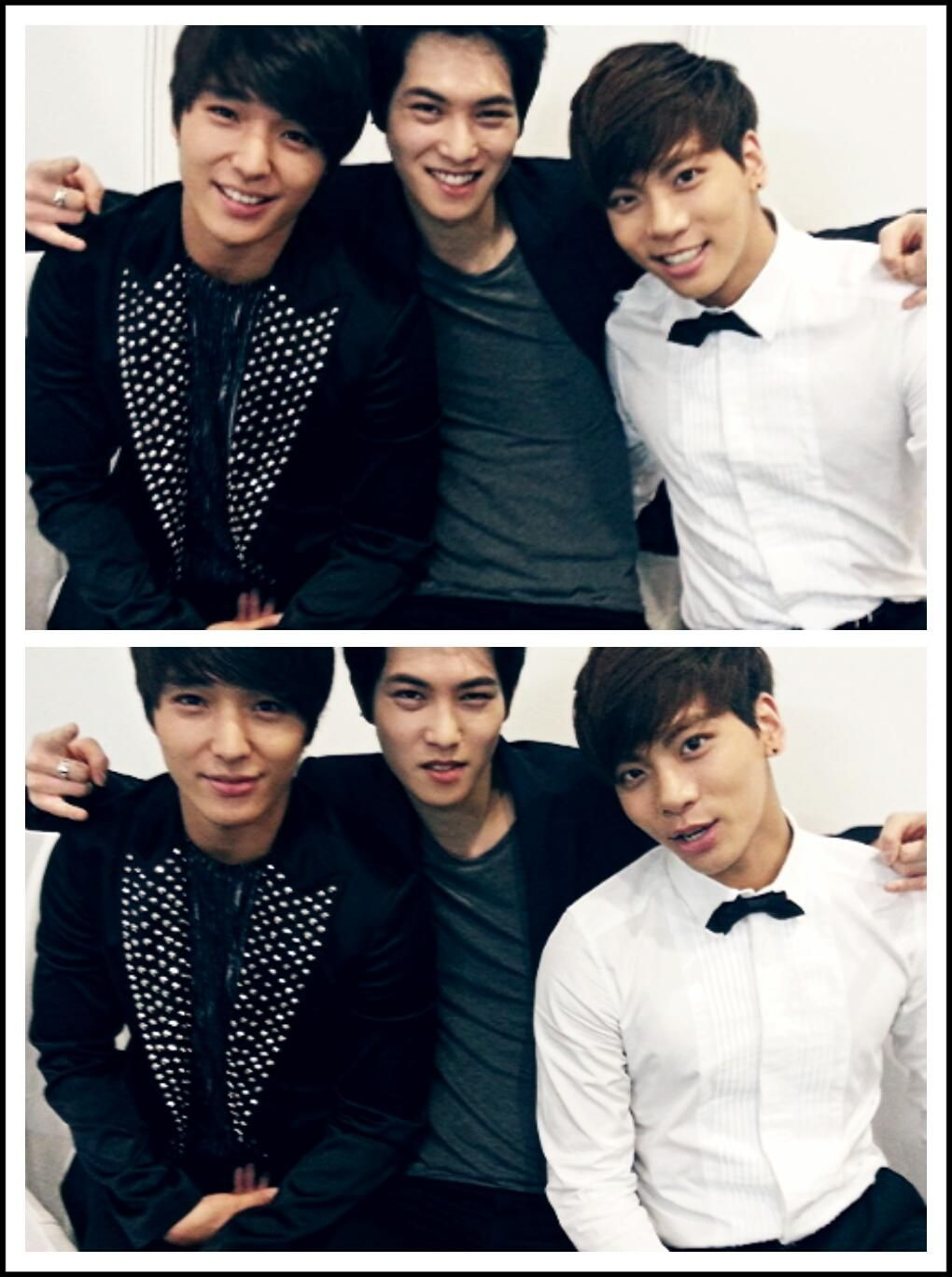 Twitter / FtGtJH: Jonghoon, CN Blue's Jonghyun & SHINee's Jonghyun, JH JH JH, Golden Disk, fighting