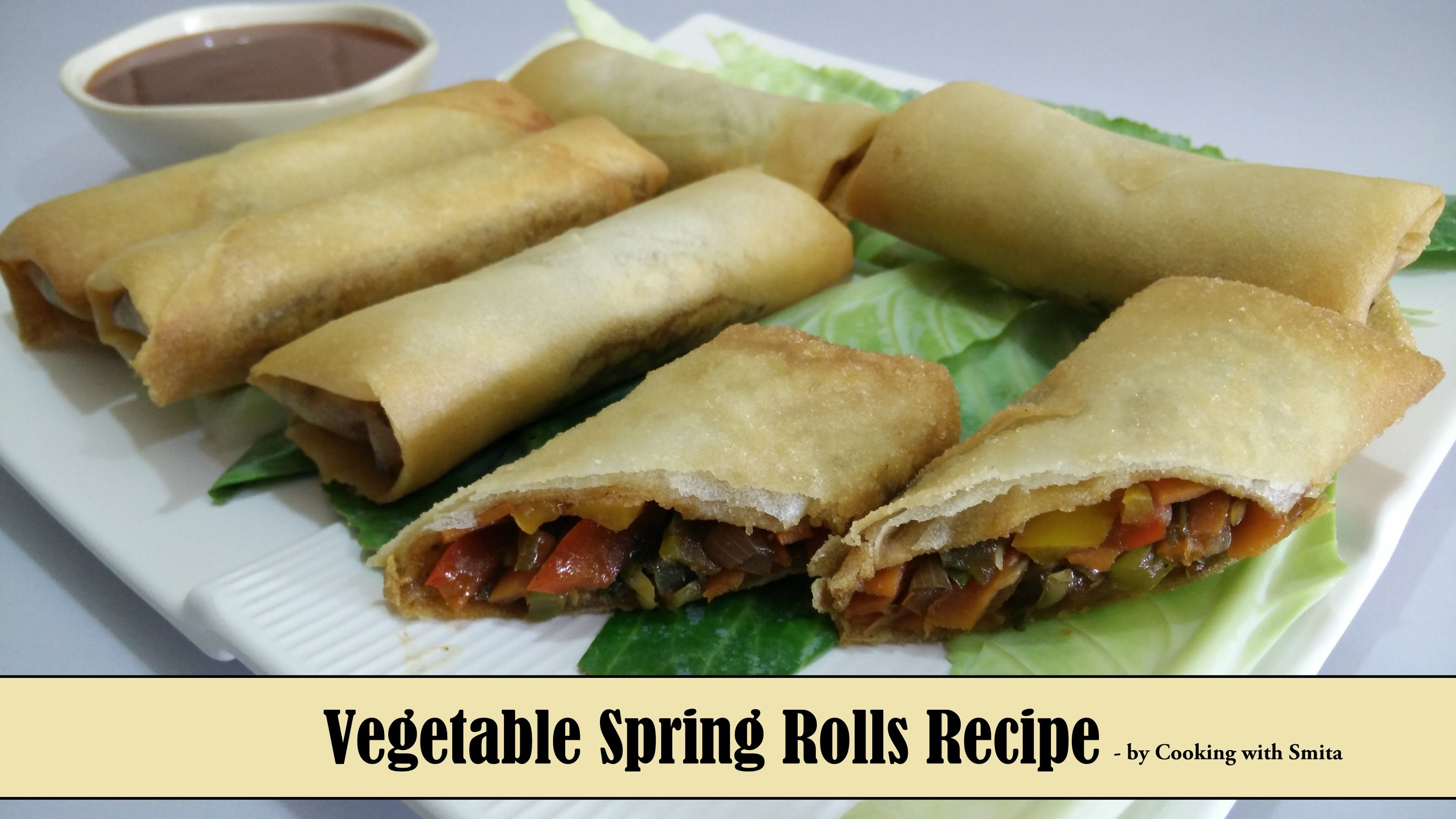 Vegetable spring rolls recipe in hindi by cooking with smita vegetable spring rolls recipe in hindi by cooking with smita forumfinder Choice Image