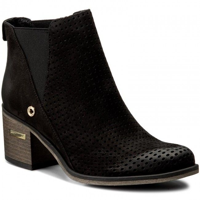 Botki Carinii B3983 Czarny Chelsea Boots Ankle Boot Boots