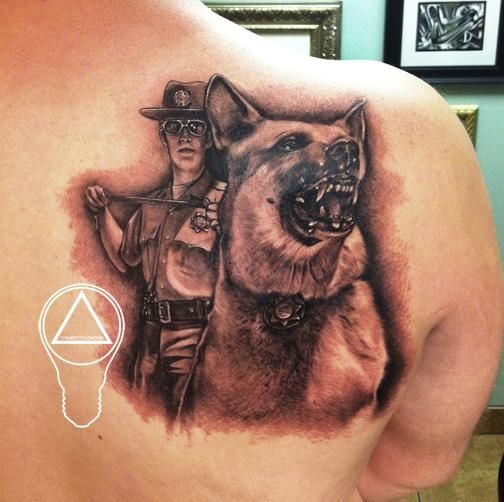 Police K9 Tattoos Related Keywords Amp Suggestions Police K9 Tattoos Cool Tattoos Tattoos Portrait Tattoo