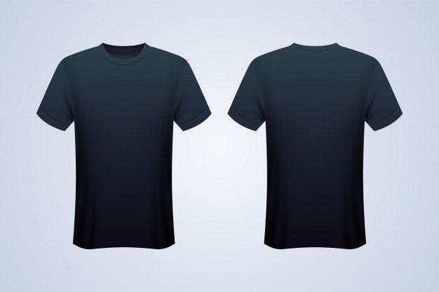 Download Front And Back Black T Shirt Mockup Black Tshirt Shirt Mockup Tshirt Mockup