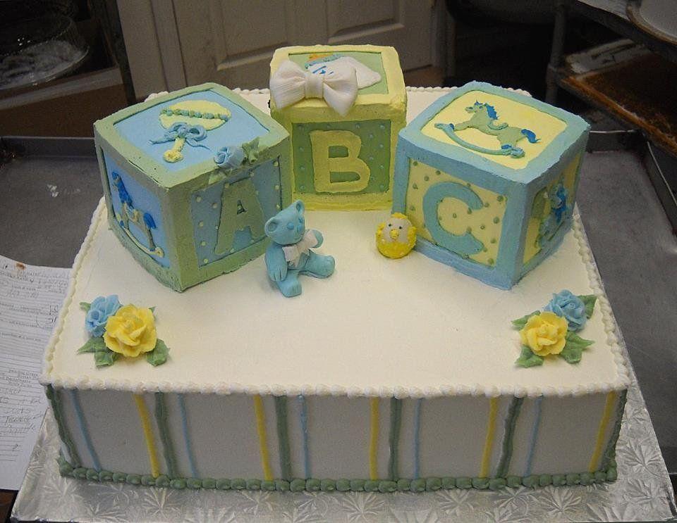abc block cake  pin  baby blocks cake cake picture to, Baby shower invitation