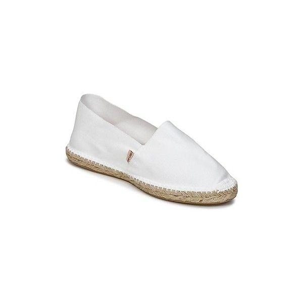 Pare Gabia VP UNIE Espadrilles (€21) ❤ liked on Polyvore featuring shoes, sandals, white, pare gabia, summer footwear, rubber footwear, pare gabia shoes and espadrille sandals