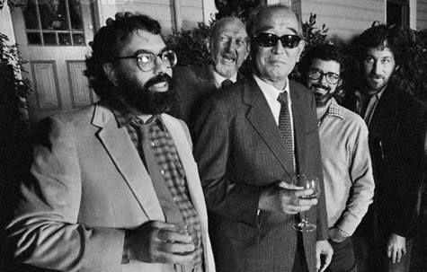 Coppola, Kershner, Kurosawa, Lucas y Spielberg.