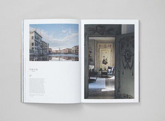 安缦酒店品牌视觉设计 - 文章