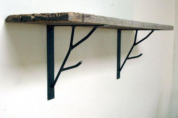 Branch Shelf Bracket Painted Finish Steel Shelf Brackets Shelf