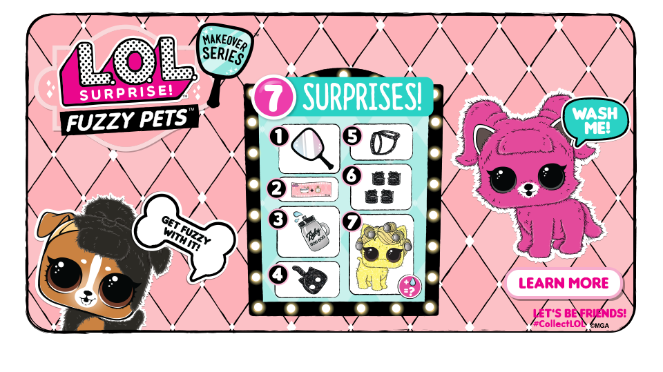 L O L Surprise Makeover Series Fuzzy Pets Lol Online Dating Advice Collectible Dolls